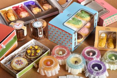 洋菓子店「Luscious closet」のブランディングデザイン