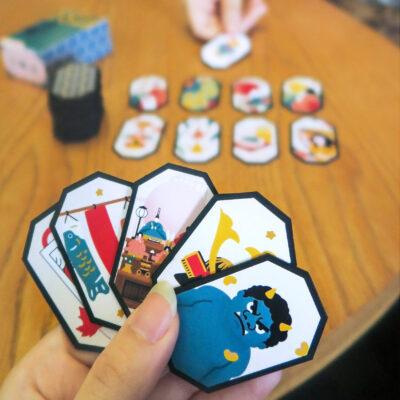 楽しみながら諸外国の文化を学べるカードゲーム